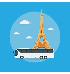 Paris travel vector