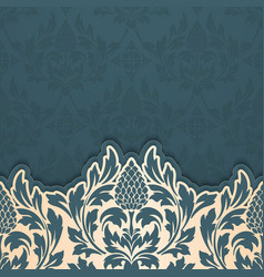 abstract arabesque elements in vector image vector image
