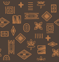 african-pattern-05 vector image vector image