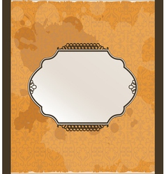 ornamental arabiq background vector image