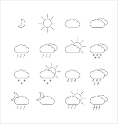 Weather-1 vector image