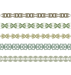 Pattern border vector