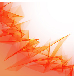 abstract flame background vector image
