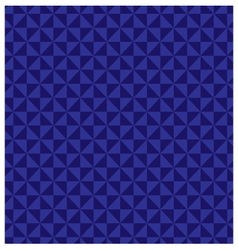 Abstract geometric background of blue vector image vector image