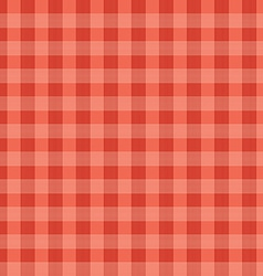 Abstract Red Seamless Tablecloth Pattern vector image vector image