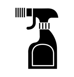 Foggy spray bottle icon vector