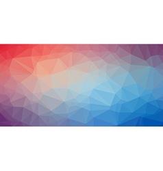 Low poly trangular trendy art background vector
