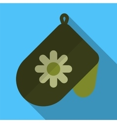 Potholder flat icon vector image