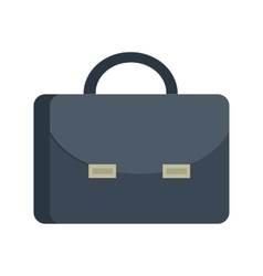 Briefcase in Flat Design vector image