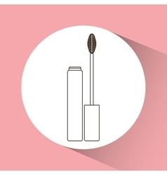Makeup and woman cosmetics vector