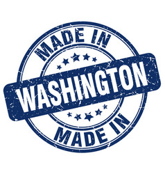 Made in washington vector
