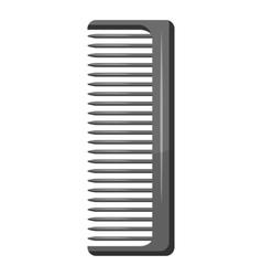 Comb icon gray monochrome style vector