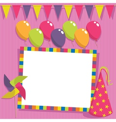 party card vector image