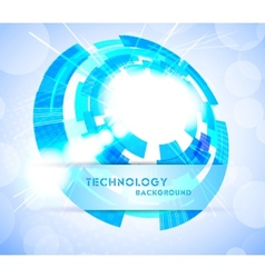 bright tech background vector image