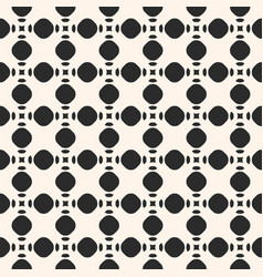 Seamless texture with circles and rounded shapes vector