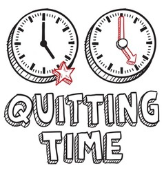 Qutting time vector