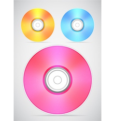 Compact disc collection vector
