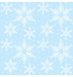 Christmas lace pattern vector