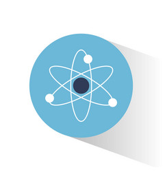 Atom molecule science school vector
