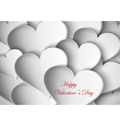 Background paper hearts vector