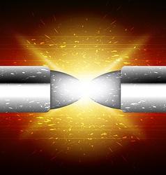 bullet battle vector image