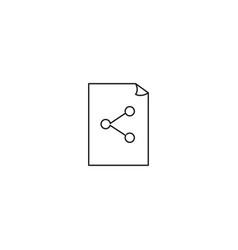 File share icon vector