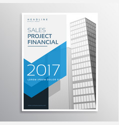 2017 business leaflet or brochure template design vector
