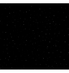 Starry night background vector