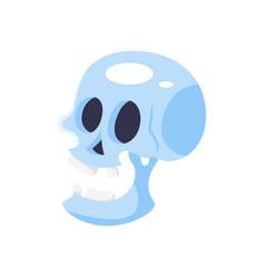 cartoon of skull vector image