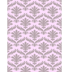 Damask seamless floral pattern background vector