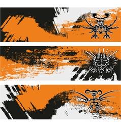 Maya banner vector image vector image