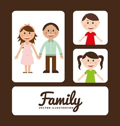 Family album vector