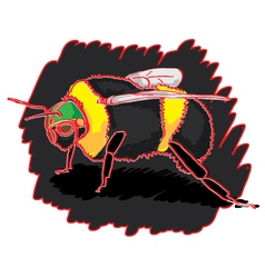 bumblebee-pw vector image vector image