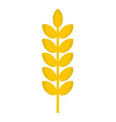 Grain spike icon isolated vector