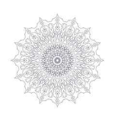 Mandala Ethnic decorative elements Hand drawn vector image vector image