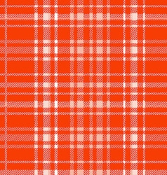 Red plaid pattern backgroun vector image vector image