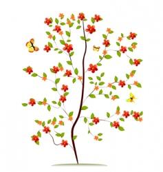 Sapling flower vector