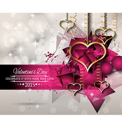 San valentines day background for dinner vector