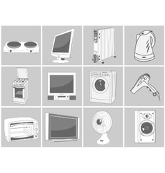 Home equipment vector image