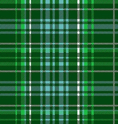 Green tartan vector image vector image