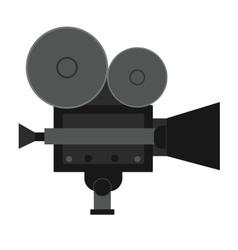 Video movie cinema amera vector