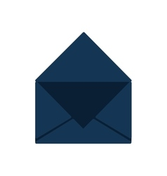 Envelope message communication icon vector