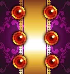 artistic background of diwali vector image vector image