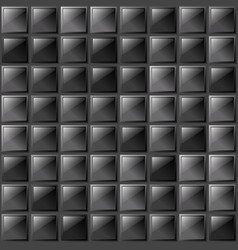 Checkers metal background of polished glass plates vector