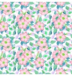 spring floral garden seamless pattern vector image