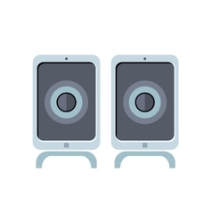 Computer speakers vector