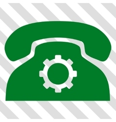 Phone settings icon vector