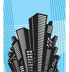 Urban style vector image