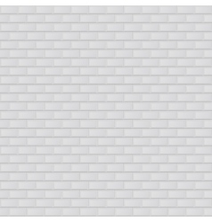 Texture of white brick vector