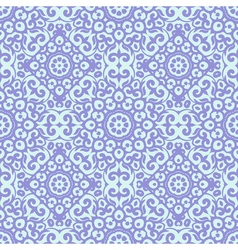Seamless pattern with bright lilac ornament tile vector
